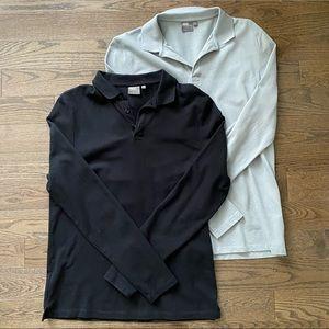 2/$20 NWOT Men's ASOS Long Sleeve Polos